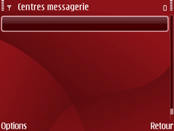 Nokia E63 - SMS - Configuration manuelle - Étape 8