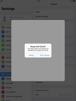 Apple iPad Air 2 - iOS 11 - Device maintenance - Create a backup of your data - Step 6