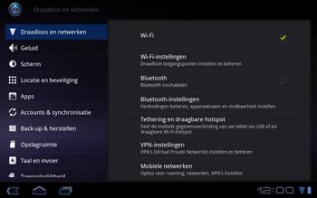 Huawei Mediapad S7-301u - Internet - Aan- of uitzetten - Stap 5