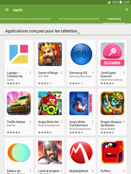 Samsung Galaxy Tab A - Applications - Télécharger une application - Étape 12
