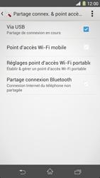 Sony Xpéria Z1 - Internet et connexion - Utiliser le mode modem par USB - Étape 10