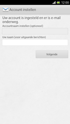 Sony LT28h Xperia ion - E-mail - Handmatig instellen - Stap 15