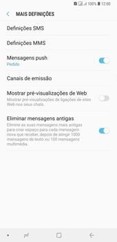Samsung Galaxy A6 Plus DualSim - SMS - Como configurar o centro de mensagens -  7