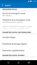 HTC One M9 - Messagerie vocale - configuration manuelle - Étape 6