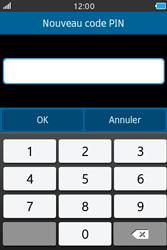 Samsung Wave M - Sécuriser votre mobile - Personnaliser le code PIN de votre carte SIM - Étape 8