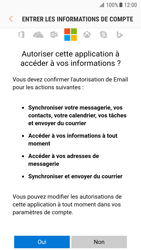 Samsung G930 Galaxy S7 - Android Nougat - E-mail - Configuration manuelle (outlook) - Étape 8
