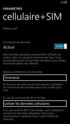 Nokia Lumia 930 - Aller plus loin - Désactiver les données à l'étranger - Étape 5