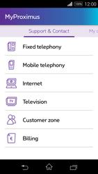 Sony D2203 Xperia E3 - Applications - MyProximus - Step 24