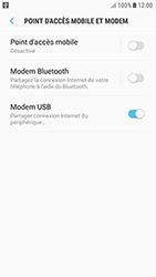 Samsung Galaxy J3 (2017) - Internet et connexion - Utiliser le mode modem par USB - Étape 9