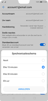 Huawei P20 Dual-SIM (Model EML-L29) - E-mail - Instellingen KPNMail controleren - Stap 8