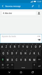 HTC Desire 816 - Contact, Appels, SMS/MMS - Envoyer un SMS - Étape 9