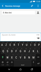 HTC One (M8) - Contact, Appels, SMS/MMS - Envoyer un SMS - Étape 9