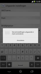 Sony D2303 Xperia M2 - E-mail - Account instellen (IMAP zonder SMTP-verificatie) - Stap 15