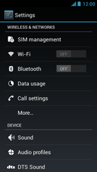 Acer Liquid Z5 - Internet - Enable or disable - Step 4