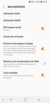 Samsung Galaxy A8 (2018) - SMS - Como configurar o centro de mensagens -  7