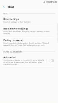 Samsung Samsung G928 Galaxy S6 Edge + (Android N) - Device - Reset to factory settings - Step 7