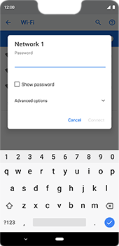 Google Pixel 3XL - Wi-Fi - Connect to a Wi-Fi network - Step 8