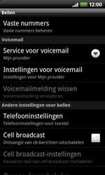 HTC A7272 Desire Z - Voicemail - handmatig instellen - Stap 5