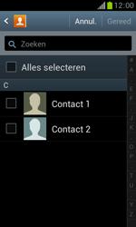 Samsung S7560 Galaxy Trend - Contacten en data - Contacten kopiëren van toestel naar SIM - Stap 7