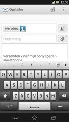 Sony C6603 Xperia Z - E-mail - e-mail versturen - Stap 7