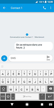 Sony Xperia XZ2 - Contact, Appels, SMS/MMS - Envoyer un SMS - Étape 9