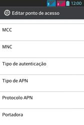 LG Optimus L5 Dual - Internet - Como configurar seu celular para navegar através de Vivo Internet - Etapa 17