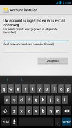 Huawei Ascend G615 - E-mail - handmatig instellen - Stap 18