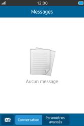 Samsung Wave M - Contact, Appels, SMS/MMS - Envoyer un SMS - Étape 3