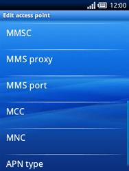 Sony Ericsson Xperia X10 Mini - Mms - Manual configuration - Step 9