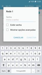 Samsung Galaxy S7 - Wi-Fi - Como configurar uma rede wi fi - Etapa 7