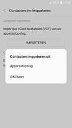 Samsung Galaxy A5 (2017) (SM-A520F) - Contacten en data - Contacten kopiëren van SIM naar toestel - Stap 9