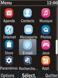 Nokia C2-05 - E-mail - Envoi d