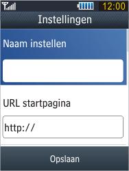 Samsung B3410 Star Qwerty - Internet - handmatig instellen - Stap 8