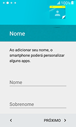 Samsung Galaxy J1 - Primeiros passos - Como ativar seu aparelho - Etapa 13
