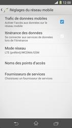 Sony Xpéria Z1 - Internet et connexion - Activer la 4G - Étape 8