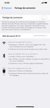 Apple iPhone XS Max - Internet et connexion - Utiliser le mode modem par USB - Étape 4