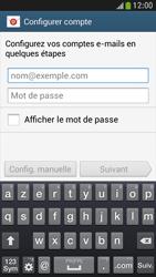Samsung I9195 Galaxy S IV Mini LTE - E-mail - Configuration manuelle - Étape 5