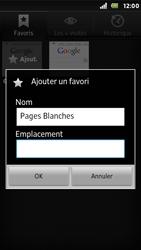 Sony ST25i Xperia U - Internet - navigation sur Internet - Étape 8