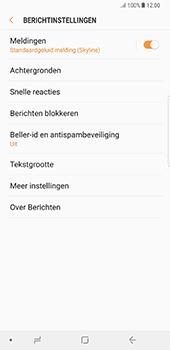 Samsung Galaxy Note 8 (N950) - SMS - SMS-centrale instellen - Stap 6