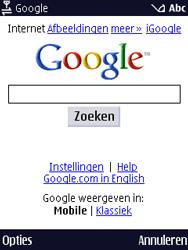 Nokia N86 - Internet - Internetten - Stap 7