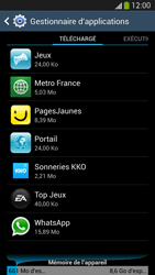 Samsung Galaxy S4 - Applications - Supprimer une application - Étape 6
