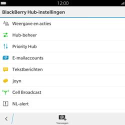 BlackBerry Passport - SMS - Handmatig instellen - Stap 6