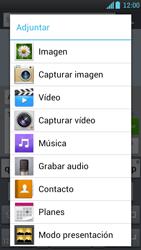 LG Optimus L9 - Mensajería - Escribir y enviar un mensaje multimedia - Paso 14