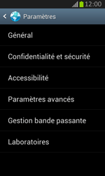 Samsung S7710 Galaxy Xcover 2 - Internet - configuration manuelle - Étape 21