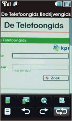 LG KU990-Viewty - Internet - Hoe te internetten - Stap 12
