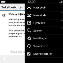 BlackBerry Classic - SMS - Handmatig instellen - Stap 5