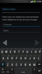HTC One - Applications - Créer un compte - Étape 5