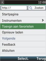 Nokia C2-05 - Internet - Internetten - Stap 7