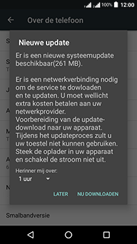 Acer Liquid Zest 4G Plus DualSim - Toestel - Software update - Stap 8