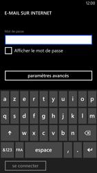 Nokia Lumia 1320 - E-mail - Configurer l